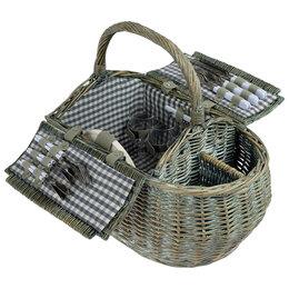 Наборы для пикника - Корзина для пикника Isabela на 4 персоны, 0