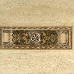 Ткани - Декор PiezaROSA (М-Квадрат) Декор PiezaRosa Империал 343761 25х40 бежевый, 0