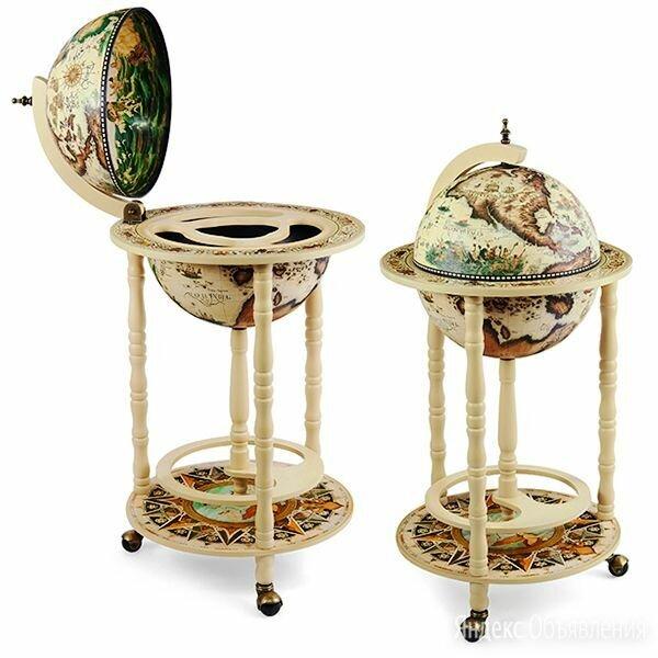 Глобус-бар напольный D=33 см, 44*44*88 см. по цене 9500₽ - Подарочные наборы, фото 0