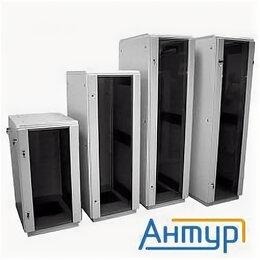 Прочее сетевое оборудование - ЦМО ШТК-m-27.6.6-1aaa Шкаф телеком. напольный 27u (600x600) дверь стекло (2 к..., 0