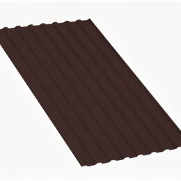 Кровля и водосток - Профнастил МП20 A Полиэстер 0,7 мм RAL 8017 Шоколад, 0