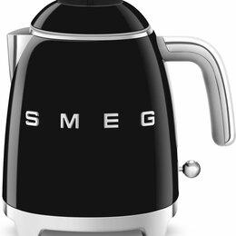 Электрочайники и термопоты - Электрический чайник SMEG KLF 05BLEU, 0