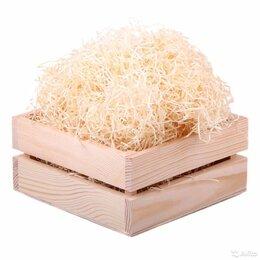 Сено и наполнители - Древесная шерсть ( деревянная солома) 1 кг, 0