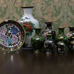 Декоративная посуда - Вазы и тарелка (008-1007) , 0