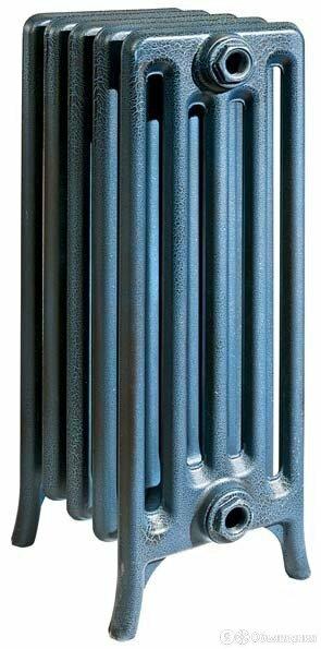 Чугунный радиатор Derby CH 500/220 11 секций, боковое подключение RETROstyle по цене 57293₽ - Насосы и комплектующие, фото 0