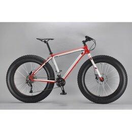 """Велосипеды - Велосипед INOBIKE Traveler Son HalfLife 26"""", 19"""", фэтбайк, черный/красный, 0"""