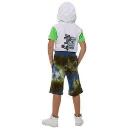 Шорты - Карамелли Шорты для мальчиков, рост 152 см, цвет сине-зелёный, 0