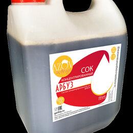 Ингредиенты для приготовления напитков - Концентрированный сок «Арбуз» 5 кг., 0