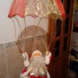 Новогодний декор и аксессуары - Дед Мороз на парашюте, 0