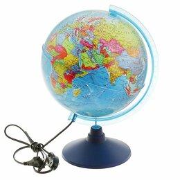 Глобусы - Глoбус политический 'Классик Евро', диаметр 250 мм, с подсветкой, 0