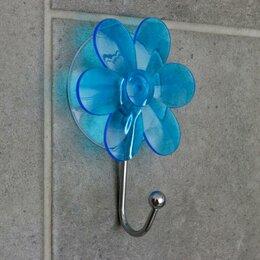 Информационные табло - Крючок на вакуумной присоске «Ромашка», цвет МИКС, 0