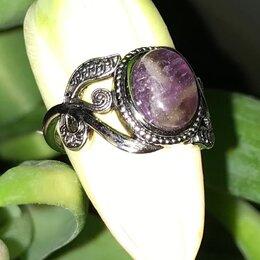 Кольца и перстни - Старинное кольцо.Аметист натуральный камень.Серебро 925 пробы ., 0
