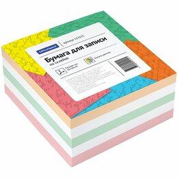 Рисование - Блок для записи записи на склейке OfficeSpace, 9*9*4,5см, цветной, 0