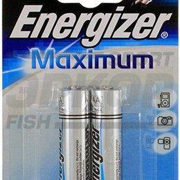 Батарейки - Элемент питания Energizer Maximum AA/LR6 FSB2 1/2, 0