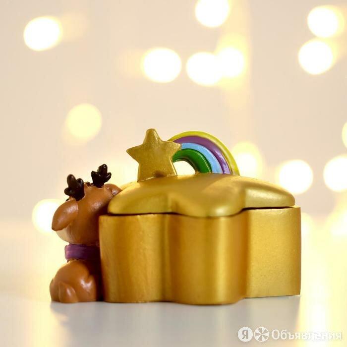 Шкатулка 'Оленёнок' по цене 503₽ - Декоративная посуда, фото 0