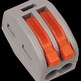 Товары для электромонтажа - Строительно-монтажная клемма СМК 222-412 (4шт/упак), 0