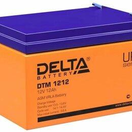Аккумуляторные батареи - Аккумулятор Дельта 1212, 0