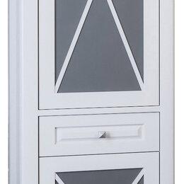 Шкафы, стенки, гарнитуры - Шкаф-пенал Opadiris Палермо L белый матовый, 0