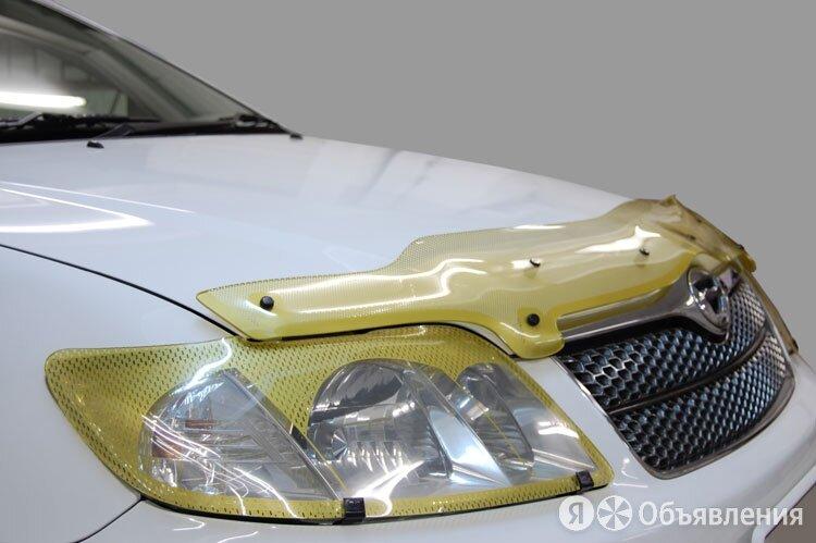 Дефлектор капота (Шелкография золото) Skoda Yeti 2009 - 2013 г.в. СА Пластик ... по цене 2980₽ - Кузовные запчасти, фото 0