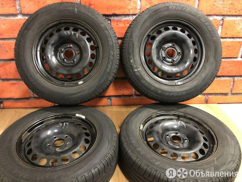 Комплект колес 215/65/16 Bridgestone Dueler HP по цене 12000₽ - Шины, диски и комплектующие, фото 0