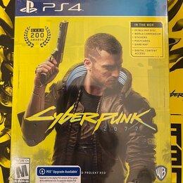 Игры для приставок и ПК - Cyberpunk 2077 ps4 диск, 0