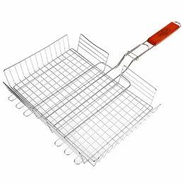 Решетки - Глубокая решетка-гриль для мяса Maclay Lux, 0