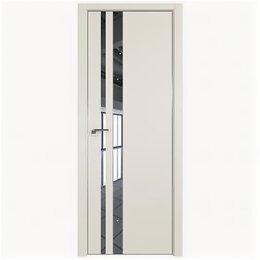 Межкомнатные двери - Межкомнатные двери Profil Doors 16E Магнолия Сатинат Зеркало Кромка Матовая с..., 0