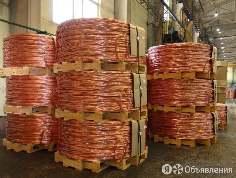 Катанка медная 12,7 мм КМ ASTM B 49-10 по цене 465500₽ - Металлопрокат, фото 0