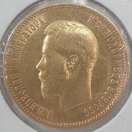 Монеты - золотая монета 10 рублей,1900 год, 0