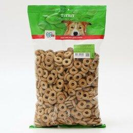 Лакомства  - Лакомство TiTBiT для собак, мясные сушки говядина, мягкая упаковка, 1 кг, 0