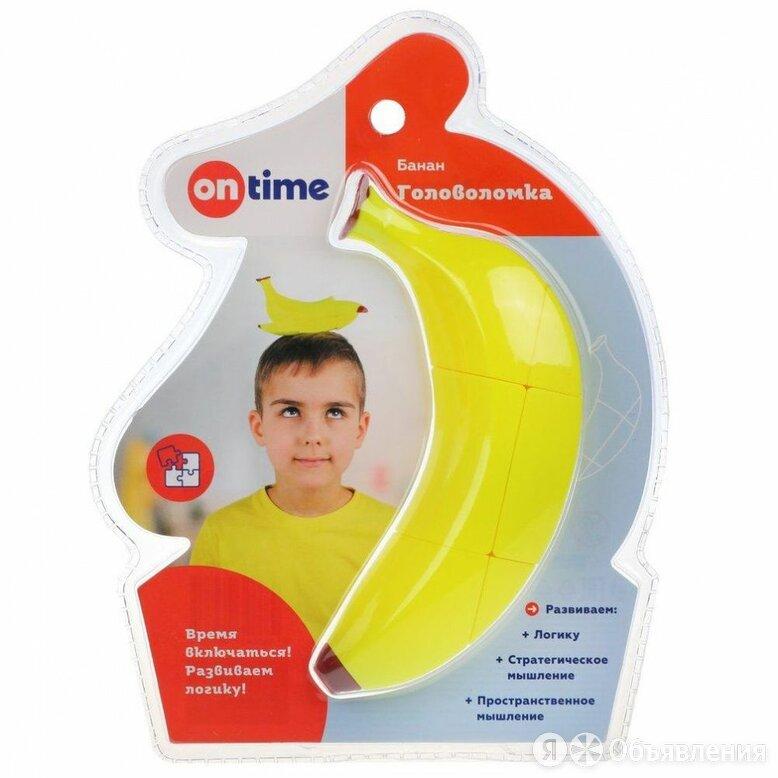 Головоломка 3D «Банан» по цене 466₽ - Головоломки, фото 0