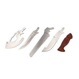 Пилы, ножовки, лобзики - Набор туристический Следопыт - пила, топор, нож, в чехле, 0