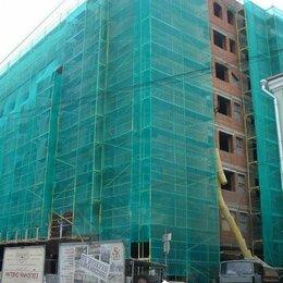 Тенты строительные - Фасадная сетка на здание, 0
