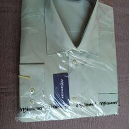 Рубашки - Рубашка мужская (MIRMATEX) новая Разм. 52-54(XXL), 0