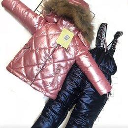 Комплекты верхней одежды - Комплект mоncler куртка и полукомбинезон зимний, 0