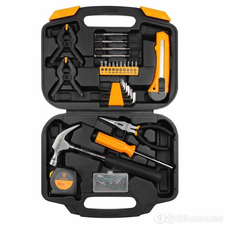 Набор инструментов для дома DEKO DKMT110 по цене 1016₽ - Наборы инструментов и оснастки, фото 0