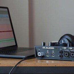 Оборудование для звукозаписывающих студий - Внешняя звуковая карта M-Audio Air 192 6, 0
