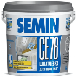 Аксессуары для палаток и тентов - SEMIN CE 78 (for JOINT, gray cover) / СЕ 78 (для швов, серая крышка) 8кг  Шпа..., 0