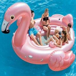 Прочие аксессуары - 57267 intex, надувной остров фламинго 422х373х185 см , 0