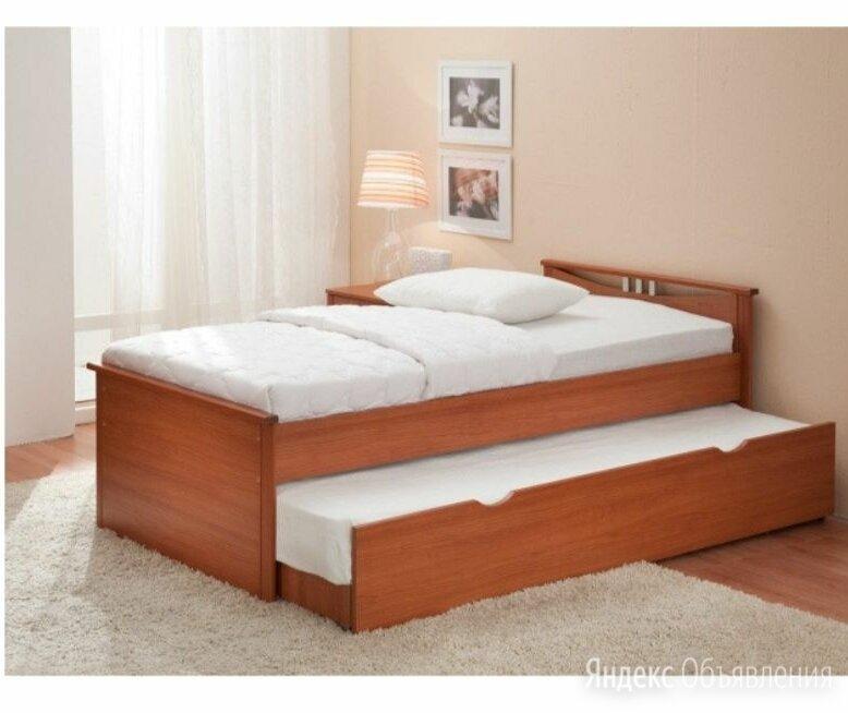 Кровать двухъярусная выкатная комод письменный стол по цене 3500₽ - Кровати, фото 0
