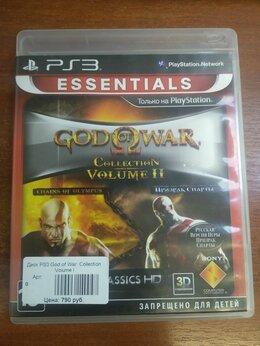 Игры для приставок и ПК - God of war collection volume 2 ps3 , 0