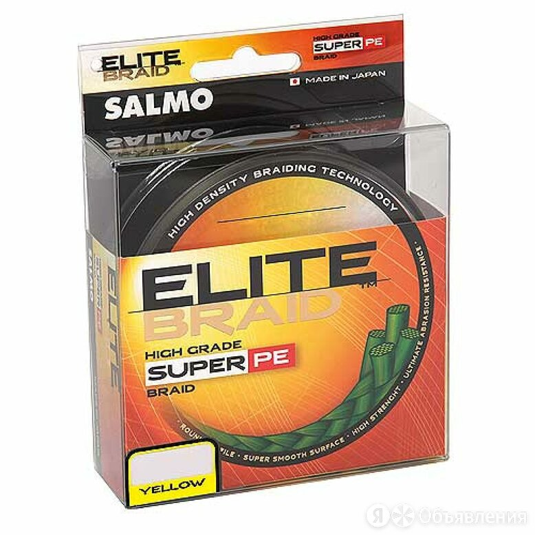 Плетеная леска Salmo Elite BRAID Yellow 091/033 по цене 763₽ - Леска и шнуры, фото 0