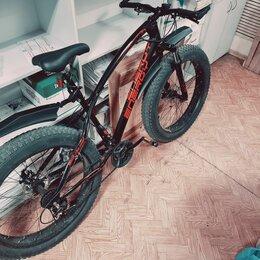 Велосипеды - Велосипед горный скоростной фетбайк fatbaik energy e05, 0