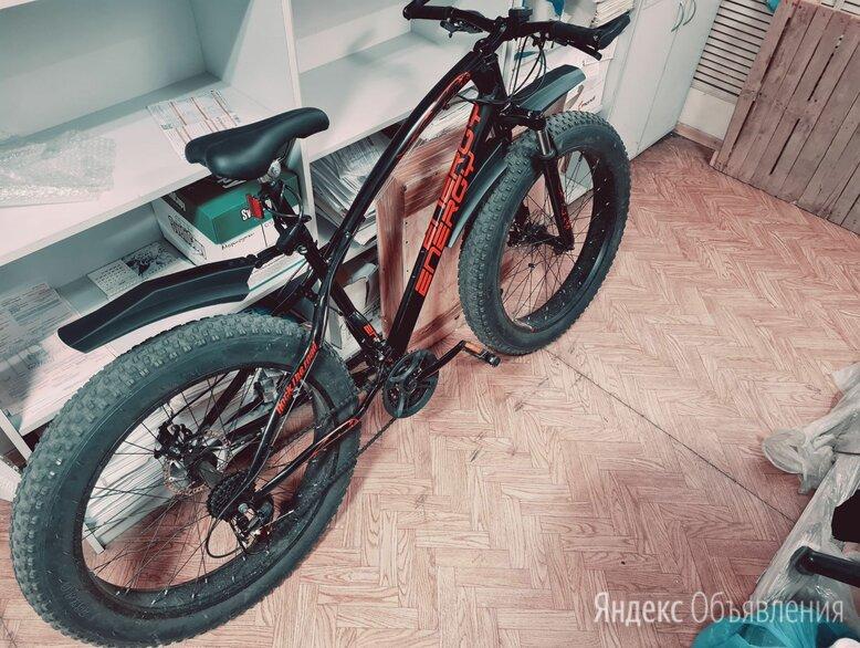 Велосипед горный скоростной фетбайк fatbaik energy e05 по цене 9499₽ - Велосипеды, фото 0