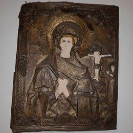 Иконы -  Икона в окладе. Ахтырская Пресвятая Богородица. 19 век. Российская Империя, 0