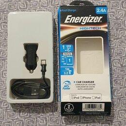 Зарядные устройства и адаптеры питания - Автозарядка Energizer оригинал, 0