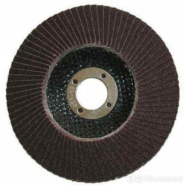 Круг лепестковый торцевой БАЗ Р40 125х22мм по цене 95₽ - Для шлифовальных машин, фото 0