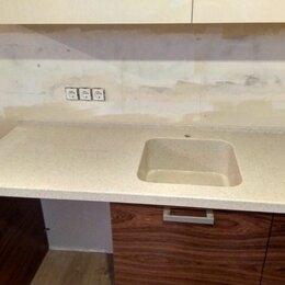 Мебель для бильярдной - Столешница для кухни  с интегрированной мойкой, 0