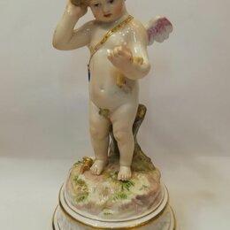 """Фигурки и наборы - Meissen статуэтка """"Амур с корзиной"""" 19 век., 0"""