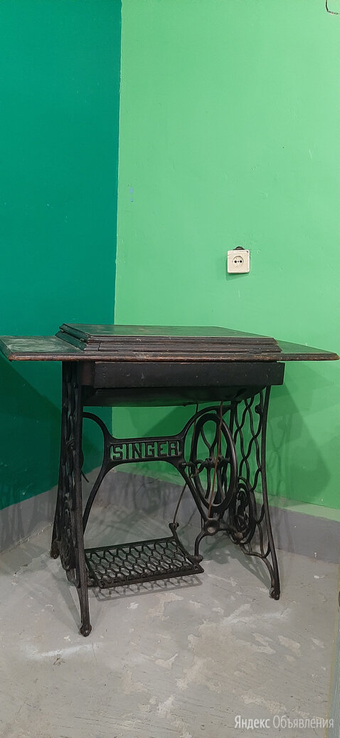 Швейная Машина Старинная  Zinger-1886 гг. по цене 3000₽ - Швейные машины, фото 0